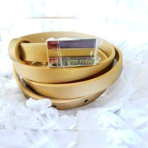NWOT Ted Baker Belt Gold 4
